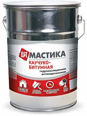 Мастика каучуко-битумная 4кг/3шт ВИТ