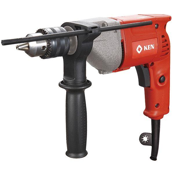 Дрель электрическая KEN /8шт (d 13 мм, 220V/50Hz, 550W, 0-2500об/мин, 1,5кг)