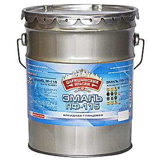 Эмаль ПФ-115 кремовая 5кг/3шт Цар