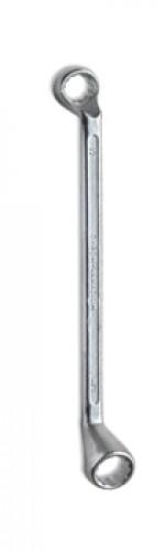 Ключ накидной 21*23мм CrV кованная хром /5-60