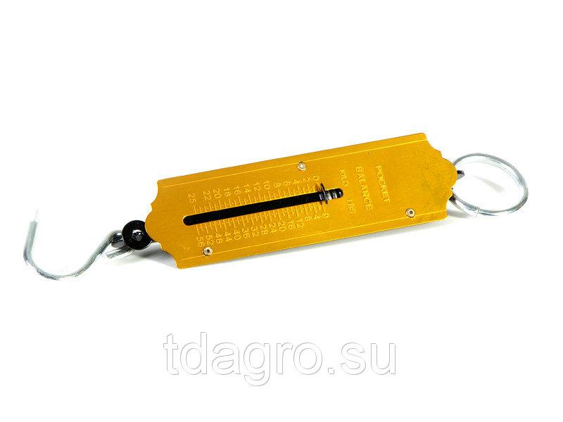 Весы-безмен бытовые 25 кг металл